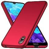 cookaR Hart Hülle für Huawei Y5 2019/Honor 8S, Ultra-Dünn Schlank Matt Handyhülle,Kratzfeste Ganzkörper Hülle Cover Schutzhülle für Huawei Y5 2019/Honor 8S Smartphone, Rot
