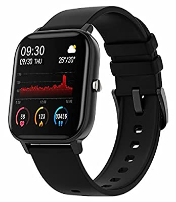 Fitness Tracker Blood Pressure Heart Rate Monitor Blood Oxygen Activity Pedometer Big Fitness Tracker Sleep Monitor for Women Men from Yihou