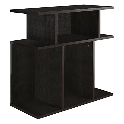 Monarch Specialties, Accent Side Table, Cappuccino, 24H'