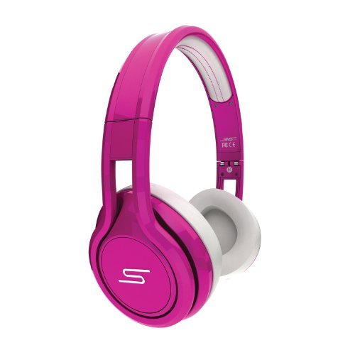 SMS Audio SMS-ONWD-PNK-5L 50 Wired Street On-Ear-Kopfhörer Magenta