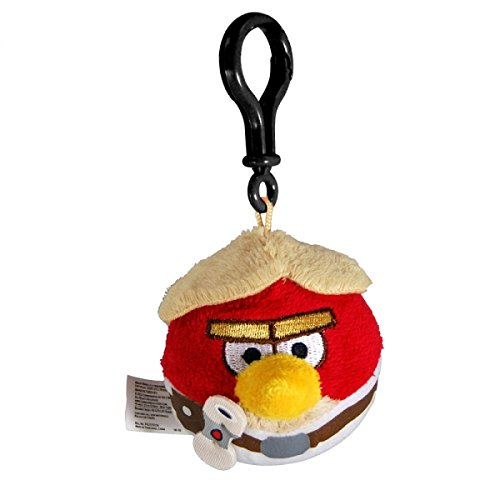 Commonwhealth - Peluche Clip On Angry Birds Star Wars - Luke - 0022284931597