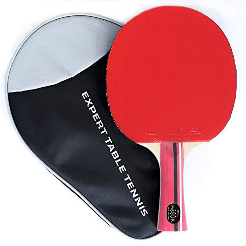 Palio Master 3.0 Tischtennisschläger mit Tasche, ITTF-geprüft, ausgestellt, für Anfänger, Ping-Pong, Schläger, Paddel