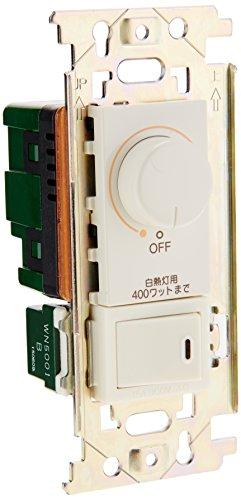 パナソニック(Panasonic) フルカラームードスイッチB 片切スイッチ付 400W ロータリー式 WNP575143