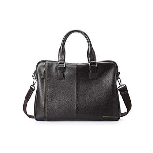Men's handtas nieuwe lederen tas man aktetas business casual schoudertas Messenger Bag