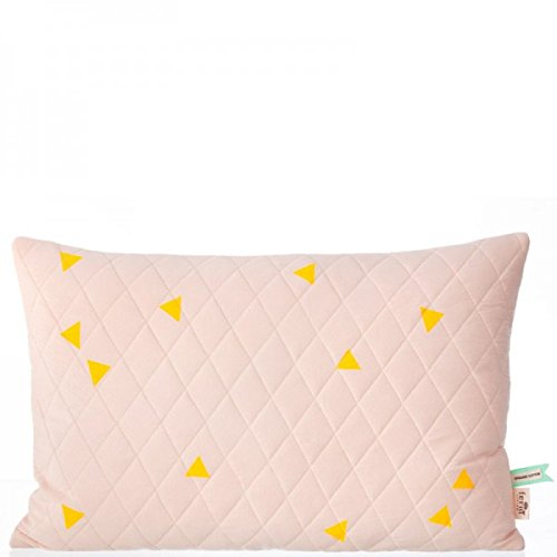 Teepee Quilted Cushion - Rose