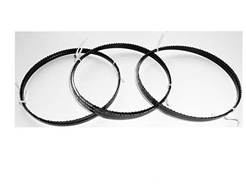 3 x Sägebänder Sägeband 1575 x 6 x 0,65 mm 6 ZpZ Holz Interkrenn Lematec