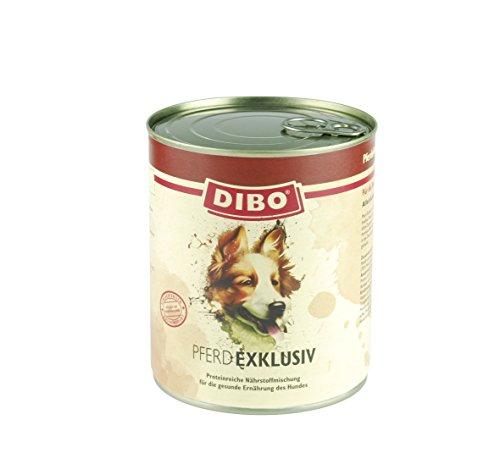 DIBO – EXKLUSIV PFERD, 800g-Dose aus reinem Muskelfleisch – Single Protein, DIBO-Qualität