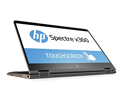 HP Spectre x360 15-bl101ng 39,6 cm (15,6 Zoll 4K IPS Touchdisplay) Laptop (Intel Core i7-8550U, 16GB RAM, 512GB SSD, Nvidia GeForce MX150 2GB, Windows 10 Home) grau/kupfer
