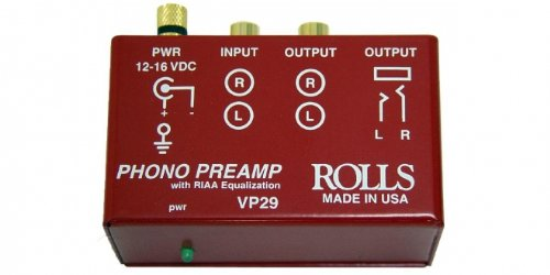rolls Phono Preamp, Red (VP29)