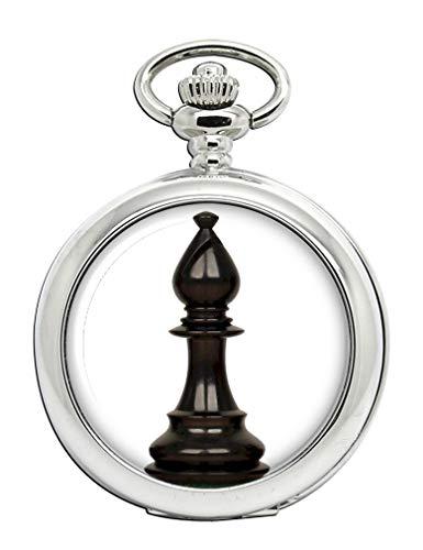 Ajedrez Bishop Reloj Bolsillo Hunter Completo