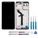 Swark - Pantalla LCD para Xiaomi Redmi 5 (Incluye Marco y Herramientas), Color Negro