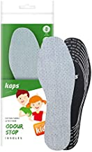 Best Shoe Insoles Inserts for Children   Bad Smell Odor Remover Technology with Breathable Foam  Kaps Odour Stop Kids Made in Europe