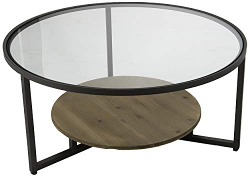 Amadeus - Set 2 Tables Basses Rondes 91cm x 44cm x 91cm