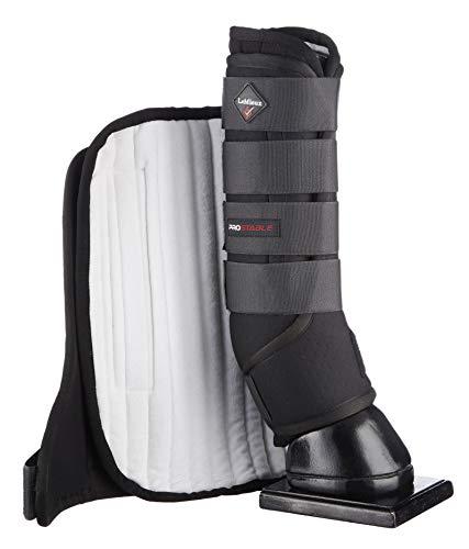 LeMieux ProStable Stiefel, Schwarz, Größe XL