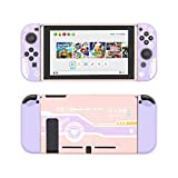 GeekShare Protective Case for Switch, Soft TPU Slim Case Cover Compatible with Nintendo Switch Console and Joy-Con (Charging Girl)
