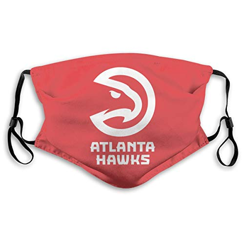 VF Atlanta Hawks Dustproof Breathableouth Cover with Filter Double Protection Adults
