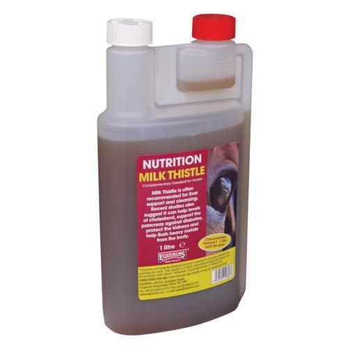 Equimins Unisex's EQS0995 Milk Thistle Liquid, Clear, Regular