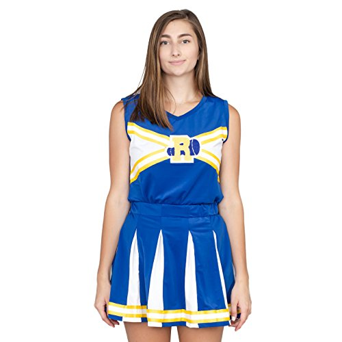 Riverdale Cheerleader High School Costume Outfit(Adult Large)