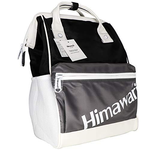 Himawari Wickeltasche für Babys, multifunktional, Wickeltasche weiß
