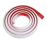 liangzai Tapón de Agua de baño Tapón de Agua de retención de Agua Cuarto de baño Plato de Ducha plagible Umbral Ducha de Agua Dam Barrera 60/120/150 / 200cm Hilarity (Color : 200cm)