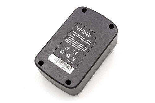 vhbw Li-Ion Akku 2000mAh (18V) für Elektro Werkzeug Matrix AK 18-1-Li wie 120.300.650.