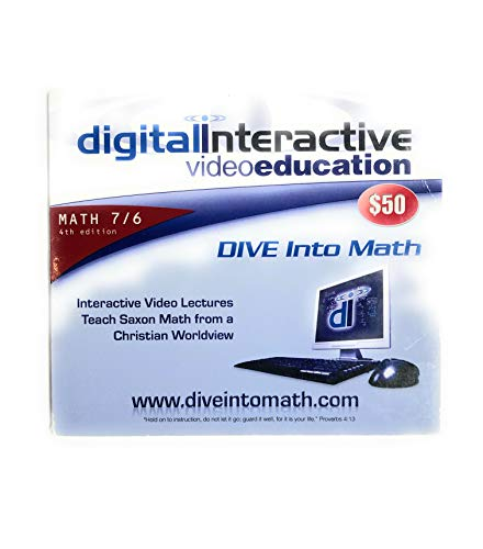 Dive Video Lectures For Saxon Math 7 6 4th Edition