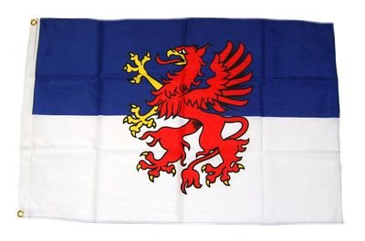 Fahne / Flagge Pommern NEU 60 x 90 cm Flaggen Fahnen