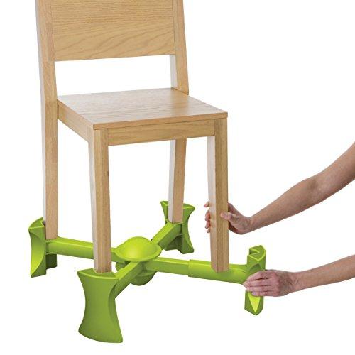 Kaboost Booster, Stuhlerhöhung, Limettengrün