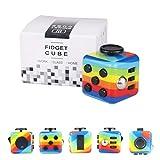 Yetech RainbowAnti-Stress Würfel Spielzeug,Anti-Estrees Würfel für Kinder und Erwachsene.
