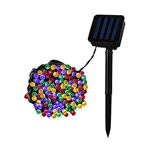 LEDKIA LIGHTING Guirlande LED avec Chargeur Solaire 12m RGB