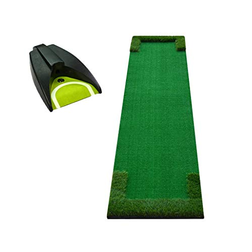 Great Price! ZTJQD Indoor Golf Putting Exerciser, 48×300cm Exercise Blanket - Mini Portable (Color ...