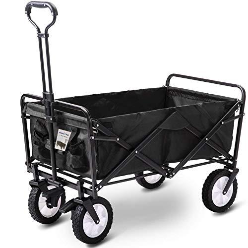 D4P Display4top Carro Plegable de Mano Carro Transporte para jardín Carro para...