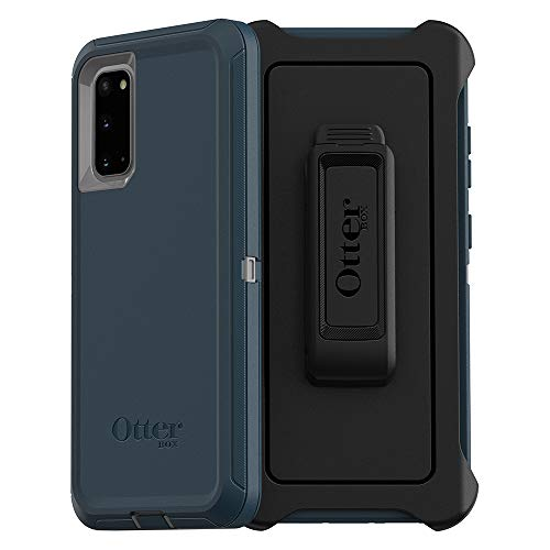Otterbox Defender Series SCREENLESS Edition Case for Galaxy S20/Galaxy S20 5G - Gone Fishin (Wet Weather/Majolica Blue)