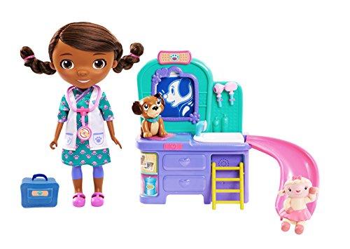 Doc McStuffins Pet Vet Talking Doll & Care Clinic