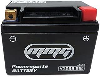 MMG YTZ5S Gel Cell Sealed Leak Proof Powersports Battery 12v for Honda Grom and Kawasaki Z125