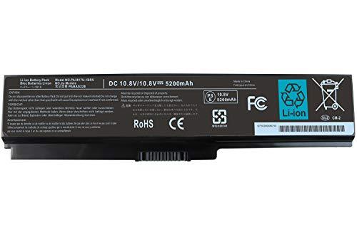 Domallk PA3817U-1BRS Battery for Toshiba Satellite A665 A665D C655 C675 C655D L635 L655 L645D L655D L755 L755D L775 P740 P755 A665-S6086 A665-S5170 C655D-S5535 L755-S5167 L745-S4210-12 Months Warranty