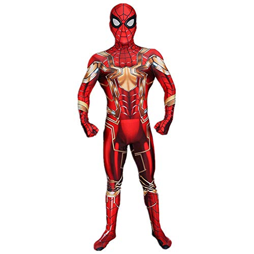 Hope Vendicatori Iron Man Siamese Calzamaglia Halloween Costume Cosplay Elastico Tuta Movie Party Fancy Dress Costume Travestimenti,Adult-M