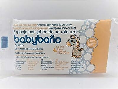 Babybaño Esponja Jabonosa De