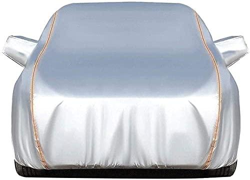 Fundas para Coche Compatible con Lexus GS 200t, Exterior Automóviles Cubierta Tarpa de Coche Todo Clima Impermeable y Anti-UV de Oxford con Tiras Reflectantes