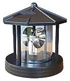 Ersatzkopf Solar für Deko Leuchtturm Rundum Leuchtfeuer Solarkopf 360° 16,5cm