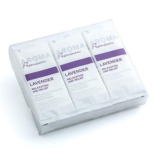 FSX 抗ウイルス 抗菌 紙おしぼり アロマプレミアム ラベンダー 30本 大判 厚手 高級 平型 業務用