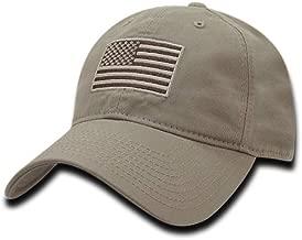 tan american flag hat