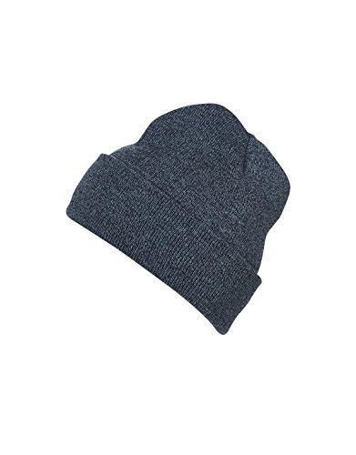 Myrtle beach Melange Beanie in blue-melange Taille: Taille unique