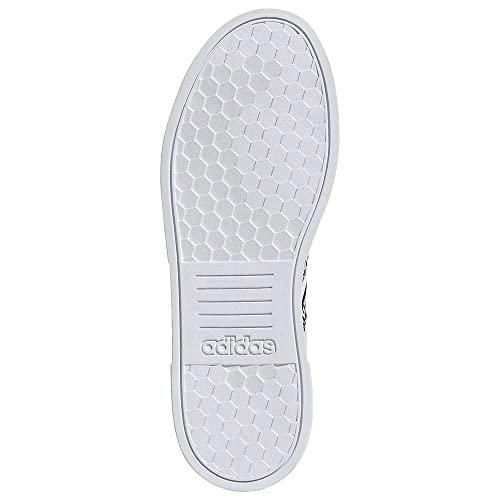 adidas Court Bold, Zapatillas de Deporte Mujer, FTWBLA/NEGBÁS/BLAMAR, 38 EU