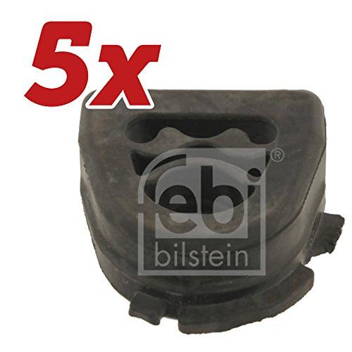 5x FEBI BILSTEIN Halter, Abgasanlage