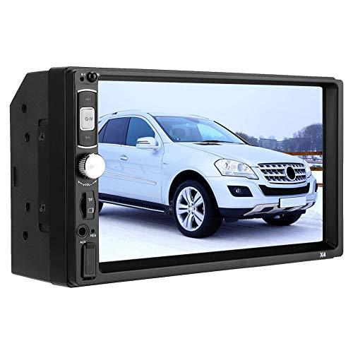 Reproductor de video MP5 para automóvil, pantalla táctil de 7 'Radio para automóvil 2din Reproductor MP5 para automóvil Radio FM Reproductor multimedia de audio automático Monitor multimedia Radio est