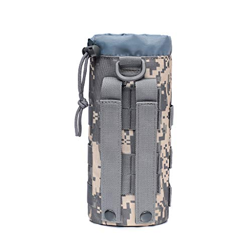 Fasclot Outdoor Water Bottle Bag Multi-Function Men Waist Bag Travel Camping Cycling Bag Sports Bag