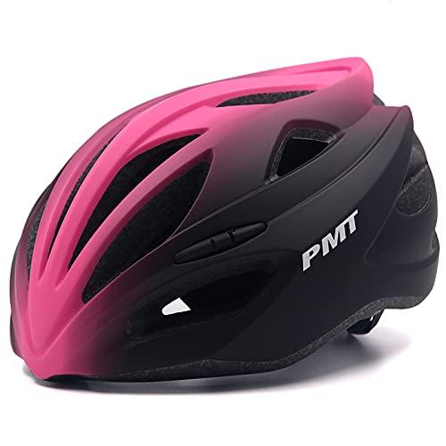 SCDJK Casco De Bicicleta para Hombre con Led Y Bluetooth, Casco Inteligente...