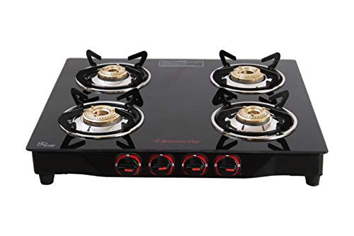 Butterfly 4-Burner Gas Stove