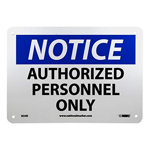 NMC N34R OSHA Sign,